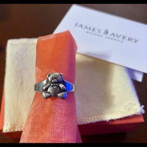Jewelry - James Avery teddy bear ring 🧸😍